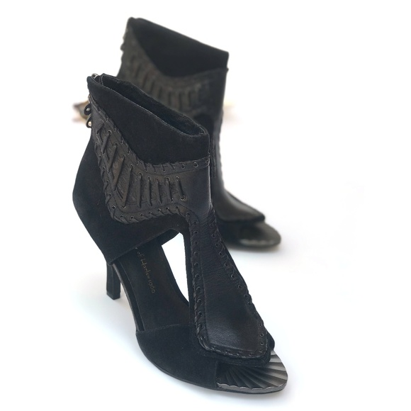 004e82cf6d18fa House of Harlow 1960 Shoes - House of Harlow 1960 Black Suede Mikola Heel  6.5